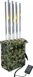 Cina 8 Band High Power Backpack Bomb Jammer, Manpack Portable Jammer 1200 Watt pabrik